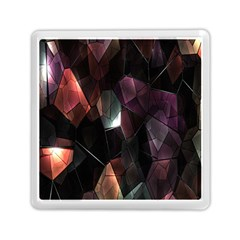 Crystals Background Design Luxury Memory Card Reader (square)