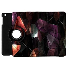 Crystals Background Design Luxury Apple Ipad Mini Flip 360 Case
