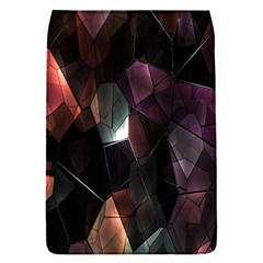 Crystals Background Design Luxury Flap Covers (s)