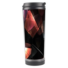 Crystals Background Design Luxury Travel Tumbler