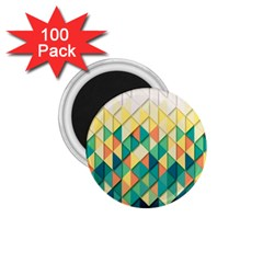 Background Geometric Triangle 1 75  Magnets (100 Pack)