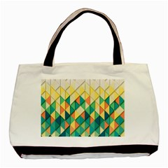 Background Geometric Triangle Basic Tote Bag