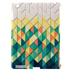 Background Geometric Triangle Apple Ipad 3/4 Hardshell Case (compatible With Smart Cover)