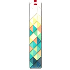 Background Geometric Triangle Large Book Marks
