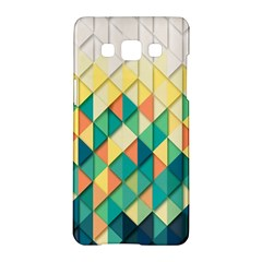 Background Geometric Triangle Samsung Galaxy A5 Hardshell Case