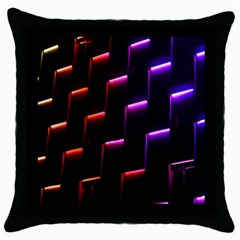 Mode Background Abstract Texture Throw Pillow Case (black)
