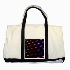 Mode Background Abstract Texture Two Tone Tote Bag