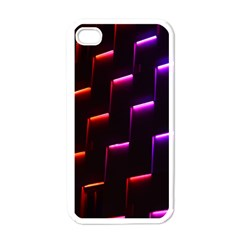 Mode Background Abstract Texture Apple Iphone 4 Case (white)