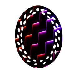 Mode Background Abstract Texture Ornament (oval Filigree)