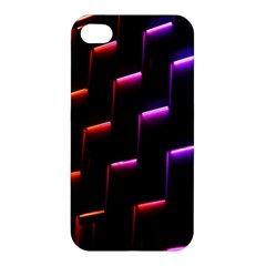 Mode Background Abstract Texture Apple Iphone 4/4s Premium Hardshell Case