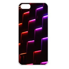 Mode Background Abstract Texture Apple Iphone 5 Seamless Case (white)