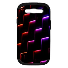 Mode Background Abstract Texture Samsung Galaxy S Iii Hardshell Case (pc+silicone)