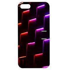 Mode Background Abstract Texture Apple Iphone 5 Hardshell Case With Stand