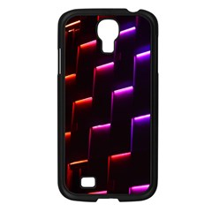 Mode Background Abstract Texture Samsung Galaxy S4 I9500/ I9505 Case (black)