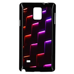 Mode Background Abstract Texture Samsung Galaxy Note 4 Case (black)