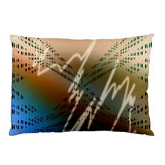 Pop Art Edit Artistic Wallpaper Pillow Case