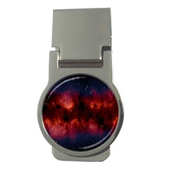 Astronomy Space Galaxy Fog Money Clips (round)