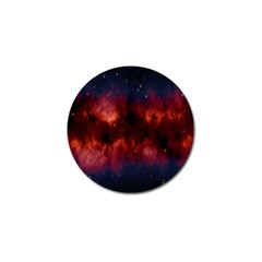 Astronomy Space Galaxy Fog Golf Ball Marker (10 Pack)