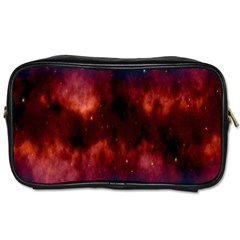 Astronomy Space Galaxy Fog Toiletries Bags 2 Side