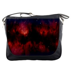 Astronomy Space Galaxy Fog Messenger Bags