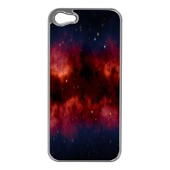 Astronomy Space Galaxy Fog Apple Iphone 5 Case (silver)