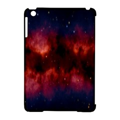 Astronomy Space Galaxy Fog Apple Ipad Mini Hardshell Case (compatible With Smart Cover)