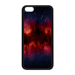 Astronomy Space Galaxy Fog Apple Iphone 5c Seamless Case (black)