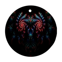 Abstract Background Texture Pattern Ornament (round)