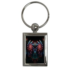 Abstract Background Texture Pattern Key Chains (rectangle)