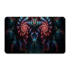 Abstract Background Texture Pattern Magnet (rectangular)