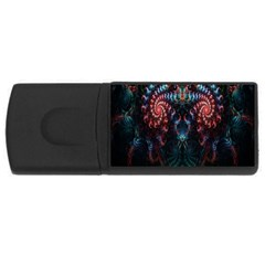 Abstract Background Texture Pattern Rectangular Usb Flash Drive