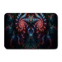 Abstract Background Texture Pattern Plate Mats