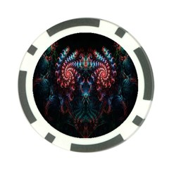 Abstract Background Texture Pattern Poker Chip Card Guard