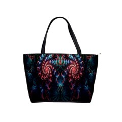 Abstract Background Texture Pattern Shoulder Handbags