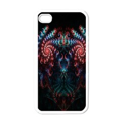 Abstract Background Texture Pattern Apple Iphone 4 Case (white)