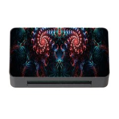 Abstract Background Texture Pattern Memory Card Reader With Cf