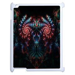 Abstract Background Texture Pattern Apple Ipad 2 Case (white)