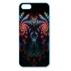 Abstract Background Texture Pattern Apple Seamless Iphone 5 Case (color)