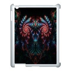 Abstract Background Texture Pattern Apple Ipad 3/4 Case (white)