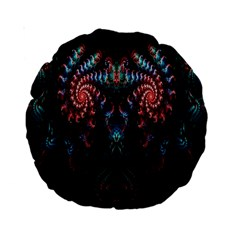Abstract Background Texture Pattern Standard 15  Premium Round Cushions