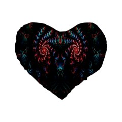 Abstract Background Texture Pattern Standard 16  Premium Heart Shape Cushions