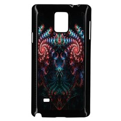 Abstract Background Texture Pattern Samsung Galaxy Note 4 Case (black)