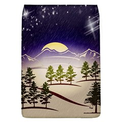 Background Christmas Snow Figure Flap Covers (l)