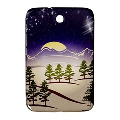 Background Christmas Snow Figure Samsung Galaxy Note 8 0 N5100 Hardshell Case