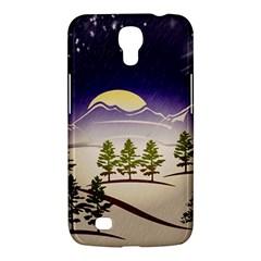 Background Christmas Snow Figure Samsung Galaxy Mega 6 3  I9200 Hardshell Case