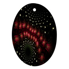 Background Texture Pattern Ornament (oval)