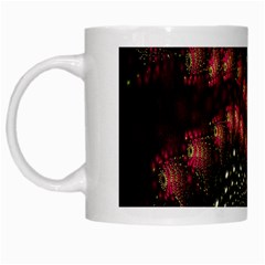 Background Texture Pattern White Mugs