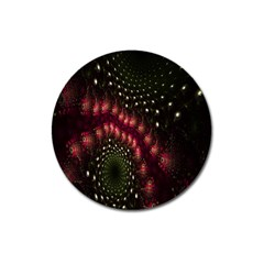 Background Texture Pattern Magnet 3  (round)
