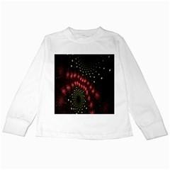 Background Texture Pattern Kids Long Sleeve T Shirts