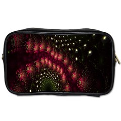 Background Texture Pattern Toiletries Bags 2 Side